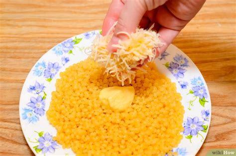 cuisiner un couscous 3 ères de cuisiner le couscous israélien wikihow