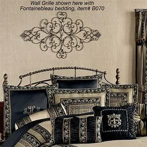 Grille Metal Decorative : adriano decorative metal wall grille ~ Melissatoandfro.com Idées de Décoration