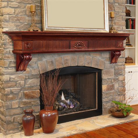 fireplace mantel shelf pearl mantels 418 60 homestead mantel shelf 60