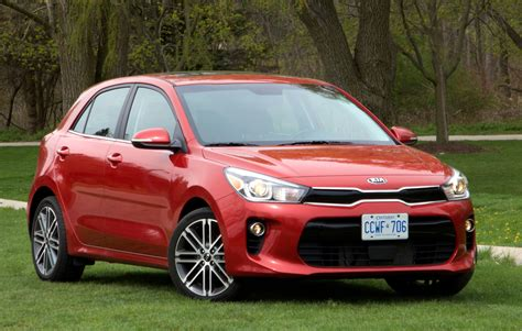 The kia rio is a subcompact car produced by the south korean manufacturer kia since november 1999 and now in its fourth generation. Review: 2018 Kia Rio - WHEELS.ca