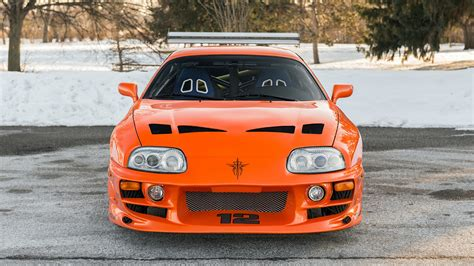 2001 Toyota Supra 'the Fast And The Furious' Wallpapers