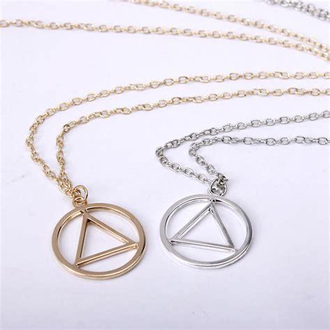 Eminem Illuminati Necklace by New Rapper Eminem Illuminati Triangle Pendant Metal