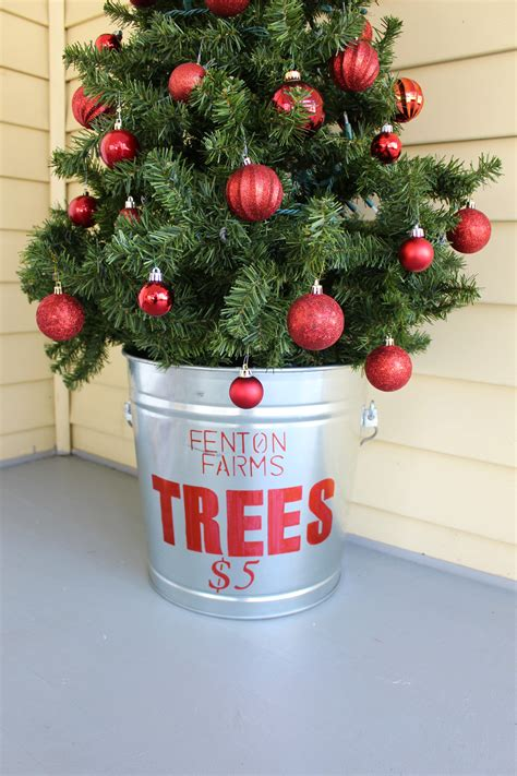galvanized for christmas tree diy galvanized christmas tree tub 2 bees in a pod