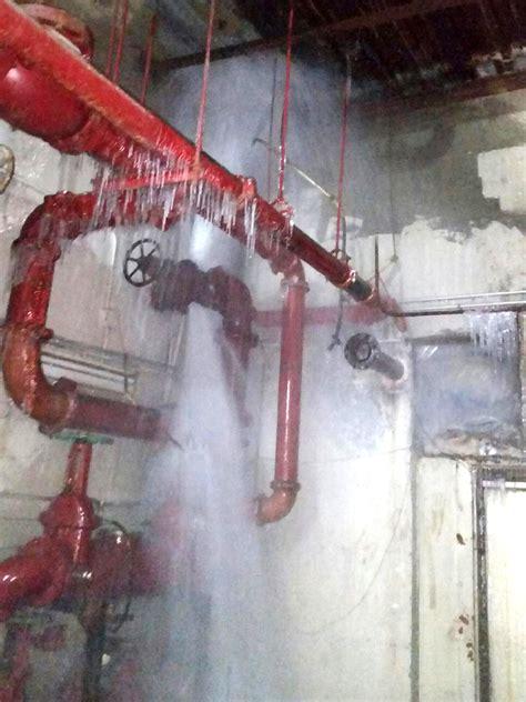 Plumbing Pipes by Frozen Water Line Bursts In Jamaica