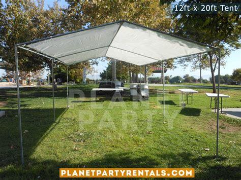 canopy tent rental 12ft x 20ft tent rental