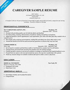 Resume best nursing quotes quotesgram for Caregiver resume examples
