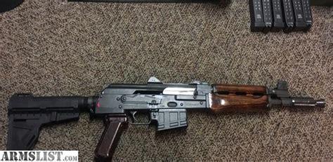 5.56 Ak Pistol W/ 12 Magazines And Ammo