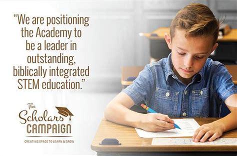 scholars campaign focus stem isaac newton christian academy