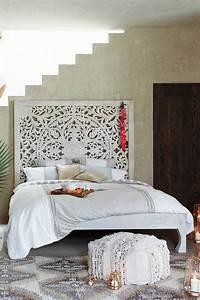 lombok bed anthropologie With tete de lit decorative