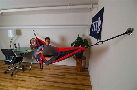 Bedroom Hammock Stand by Welcome Home To Indoor Hammocking Interiordesign Hammock