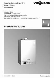 Viessmann Vitodens 100