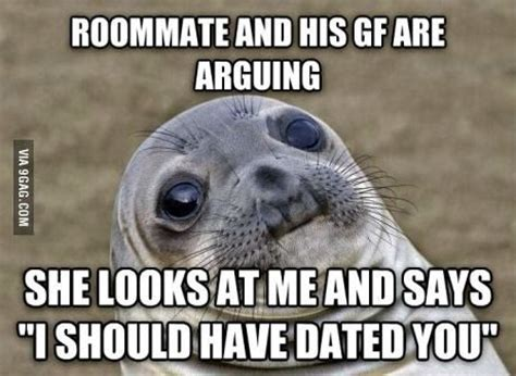 Housemate Meme - 19 best images about awkward moment seal on pinterest without you shopping and high five