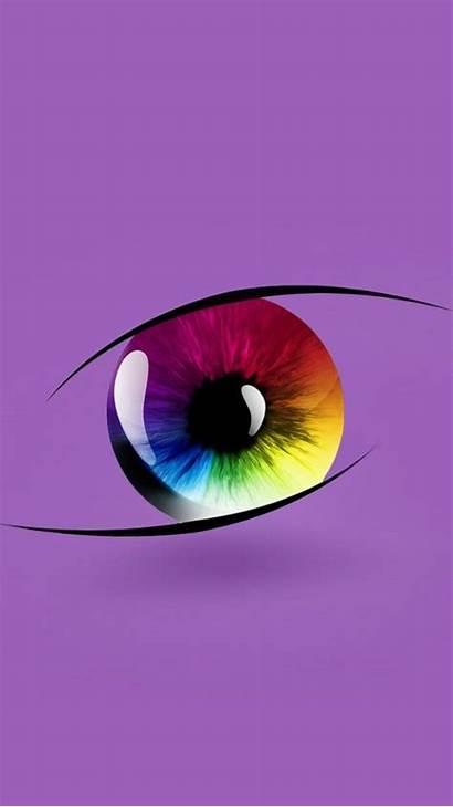 Eyes Sunset Colorful