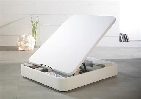 canape d angle 200 cm acheter votre sommier coffre tapissier pvc blanc chez simeuble