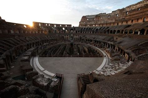 round table sports arena secrets of the colosseum history smithsonian