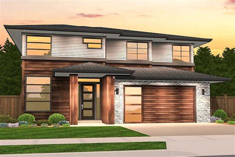 modern prairie   upstairs bedrooms ms architectural designs house plans