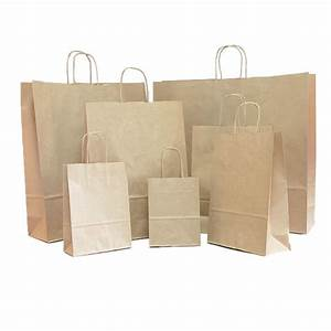 Brown Paper Carrier Bags | Coloured Paper Bags | Carrier ...