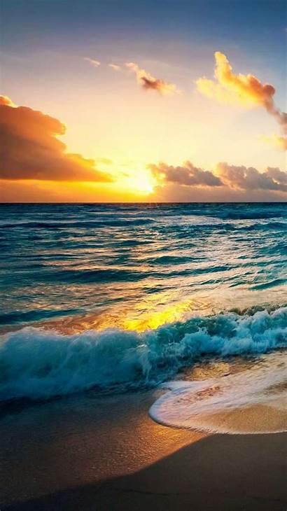Iphone Beach Wallpapers Sea Sunrise Zedge Ocean