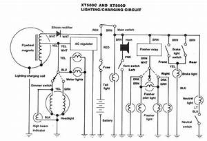 Yamaha Xt500 Wiring Diagram