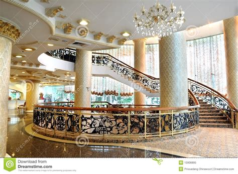 hotel lobby stock image image  architecture commercial