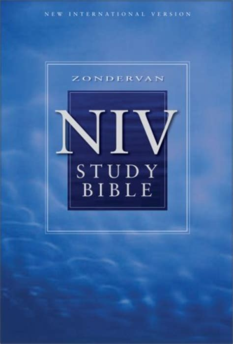study bible niv  anonymous reviews discussion