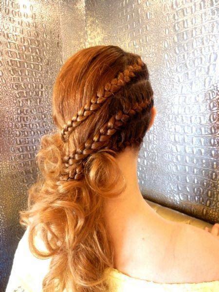 cute hairstyle ideas  night