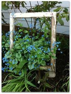 Frame Idea Old Window Garden