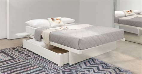 Japanese Platform Storage Bed (no Headboard)  Get Laid Beds