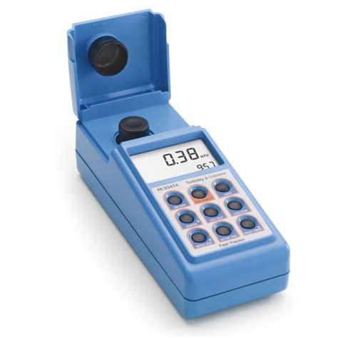 Turbidimètre + photomètre chlore spécial eau potable ...