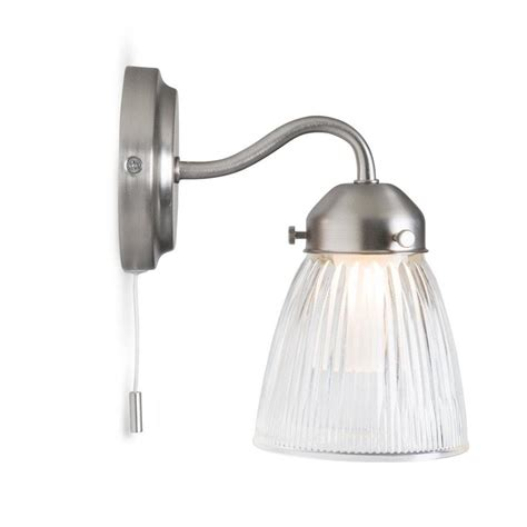 pimlico bathroom wall light modern chic lighting garden trading the farthing