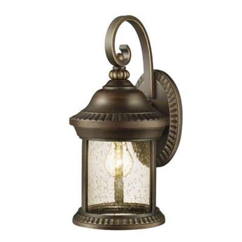 hton bay cambridge collection 1 light essex bronze