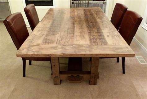 reclaimed dining table top amazing solid wood dining room table modern tables