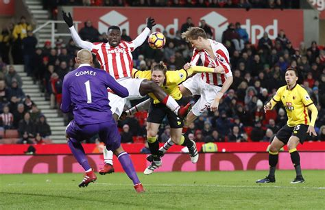 Stoke's Peter Crouch strikes again to give Watford the ...