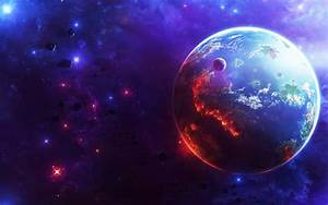 3D Wallpaper Colorful Planets (page 3) - Pics about space