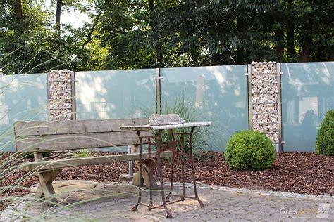 Sichtschutz Garten De by Sichtschutz Aus Glas F 252 R Den Garten Glasprofi24
