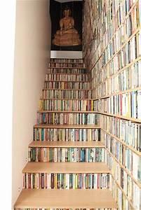 Fabriquer Une Mezzanine Soi Même : escalier bibliotheque belle occupation d l 39 espace maison ~ Premium-room.com Idées de Décoration