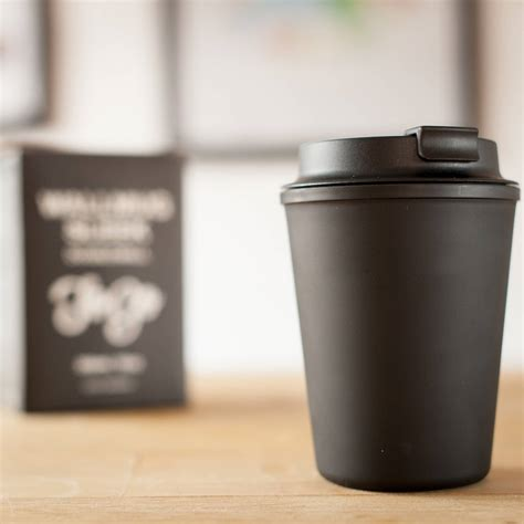 The perfect lid for your coffee cup. Reusable Travel Coffee Cup with Lid - Two Chimps Coffee