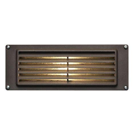 hinkley lighting low voltage 12 watt bronze stair mount