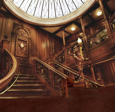 vintage titanic grand staircase 5x7ft vinyl backgrounds wedding studio props printed