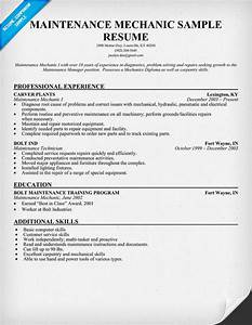 Search results for printable auto mechanic resumes for Mechanic resume search