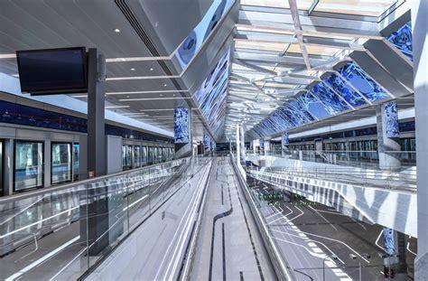 Dubai Route 2020 Metro Line Starts Carrying Passengers ...