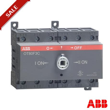 Otfc Scar Abb Change Over Switch Ele