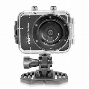PyleSports - PSCHD60OR - Hi-Speed HD 1080P Action Camera Hi-Res Digital Camera/Camcorder with ...