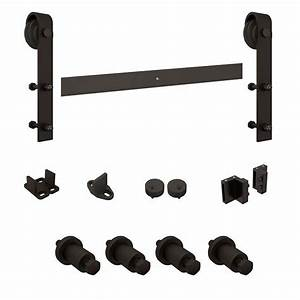 national hardware n186960 oil rubbed bronze 72 inch With 72 inch barn door hardware