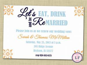 vow renewal invitation printable vow renewal party by With free printable wedding vow renewal invitations