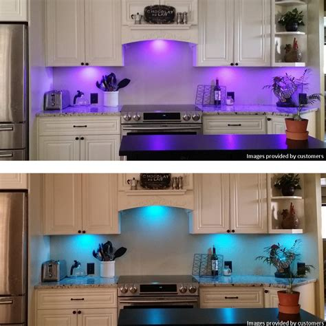 led light kitchen change cabinet puck light bulb cabinets matttroy 6941