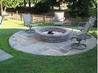 stone fire pit Tips on Designing Outdoor Fire Pits - MidCityEast