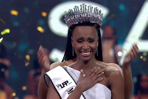 zozibini tunzi crowned    south africa