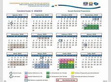 Calendario UNAM 20182019 – Servicios Escolares – Centro
