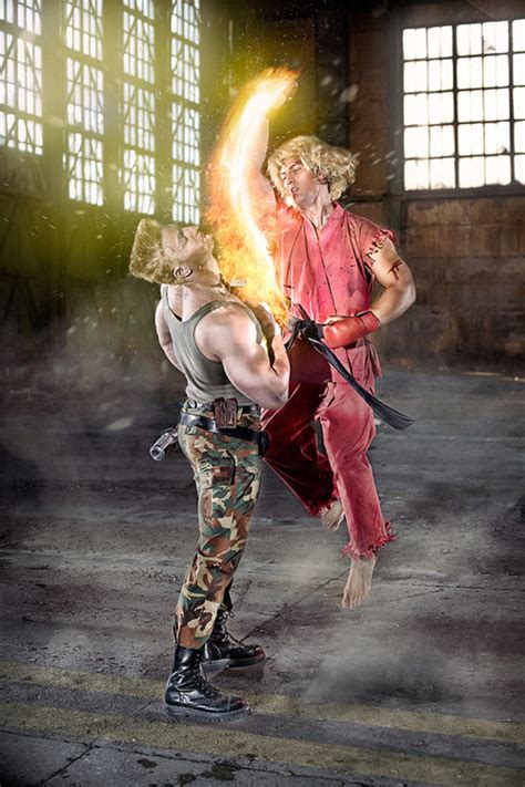 Street Fighter Characters In Real Life Boost Inspiration